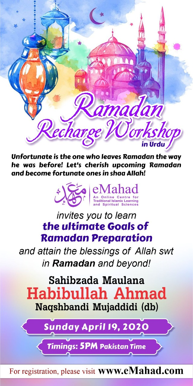Ramadan Recharge Workshop